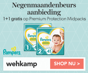 Pampers midpacks